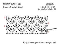 Crochet Shell Stitch Pattern