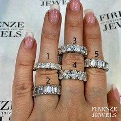 Wedding Rings For Women, Wedding Bands, Diamond District, Diamond Jewelry, Jewelry Design, Number, Engagement Rings, Jewels, Diamond Jewellery