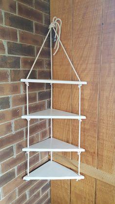 corner nautical rope swing shelf 4 tier shelf nautical