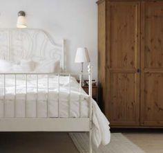 leirvik bed in all white