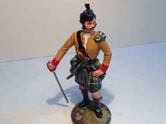 Britains Clansman 90 mm scale metal figure. No.3. | eBay