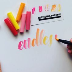 You might be seeing more Tombow videos from me because, while I love working with the black Tombow Fude pens, the colour possibilities of the blending Dual Brush pens are endless. And so much fun!! #tombowusa