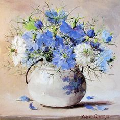 ''Love In A Mist'' by Anne Cotterill.