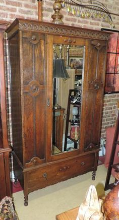 antique mahogany wardrobe armoire wood antique mahogany armoire