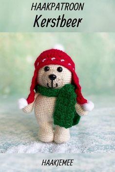 Free Crochet, Knit Crochet, Crochet World, Loom Knitting, Diy And Crafts, Crochet Patterns, Christmas Decorations, Xmas, Teddy Bear