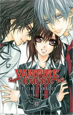 vampire knight Kaname, Yuki Cross, and Zero