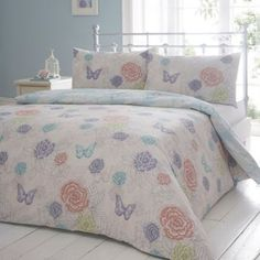 Debenhams Reversible 'Fluer butterfly' bedding set- at Debenhams.ie