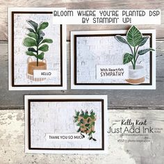 Just Add Ink #557 | photo inspiration – kelly kent Brick Fireplace Wall, Have A Great Friday, Bloom Where Youre Planted, Raining Outside, Just Ink, Card Making Inspiration, Long Weekend, Note Cards, Cardmaking