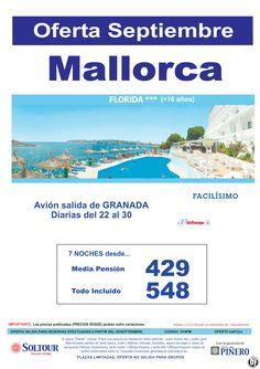 MALLORCA , Oferta Hotel Florida, salidas diarias del 22 al 30 Septiembre desde Granada ultimo minuto - http://zocotours.com/mallorca-oferta-hotel-florida-salidas-diarias-del-22-al-30-septiembre-desde-granada-ultimo-minuto/