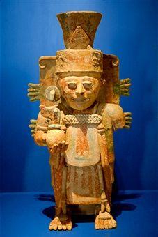 mérida, mexico, mayan artifact