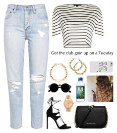 """""""Untitled #322"""" by nun-for-free ❤ liked on Polyvore featuring Stuart Weitzman, Alexander Wang, MICHAEL Michael Kors, Michael Kors and Retrò"""