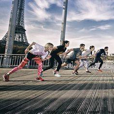 «Hier soir Paris a tremblé sous nos pas! #boostbastille #boostbattlerun #adidas #running #paris»