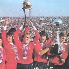Independiente de Avellaneda Campeón Copa Intercontinental 1984. 1984, National League, Club, Competition, Football, Reyes, Style, Soccer Pictures, Champs