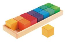 Grimm's Large Shapes & Colors Building Set, Part 1 - Colorful Wooden Blocks in 5 Geometric Forms (4x4 Size) Grimm's Spiel and Holz Design,http://www.amazon.com/dp/B004OY6B9W/ref=cm_sw_r_pi_dp_tT6gtb1PK050ATS4