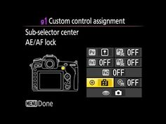 NIKON D500 TRICK: Professional Photography Trick & Super-Tip for FASTER Autofocus - YouTube