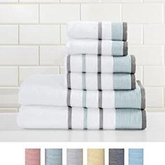 3 Towel Holders Clear Push In Grip Kitchen Cloth Self Adhesive Bar Bathroom New