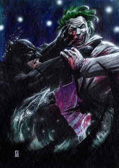 Batman vs The Joker - Peejay Catacutan