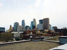 Downtown Minneapolis Skyline.  Photo: Courtesy of Rita Farmer Photography