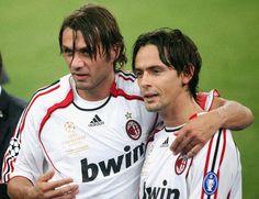 Maldini and Inzaghi