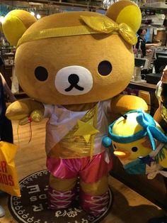 Rilakkuma in Tower Records 2014 costume :)