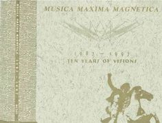 Various - Musica Maxima Magnetica 1987 - 1997 (Ten Years Of Visions) (CD) at Discogs