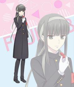 Il y a tous les persos uwu   🌹Fruits Basket🌹 Amino Fruits Basket Funny, Fruits Basket Quotes, Fruits Basket Manga, Anime Couples Manga, Anime Guys, Zootopia, Yuki Sohma, Familia Anime, Shoujo