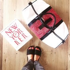 Grab a book, zip on an appliqué & travel somewhere that inspires you #jetsetgo #miscere #interchangeable #newin #wheretonext #ihavethisthingwithfloors #birdseyefashion #travelstyle #newyorker