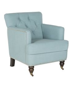 Look at this #zulilyfind! Aidan Tufted Club Chair #zulilyfinds