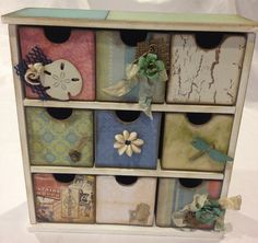Altered Mini Drawers