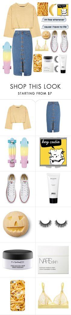"""Yellow :)"" by nikkischeper ❤ liked on Polyvore featuring adidas Originals, Madewell, Converse, Balmain, MAC Cosmetics, NARS Cosmetics, Casetify and STELLA McCARTNEY"