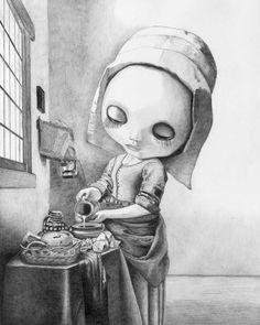 Blythe Kitchen Maid - by Thomas DePorter (Friend2Blythe)