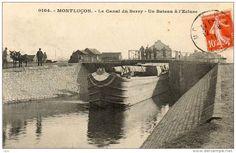Montluçon. Canal du Berry
