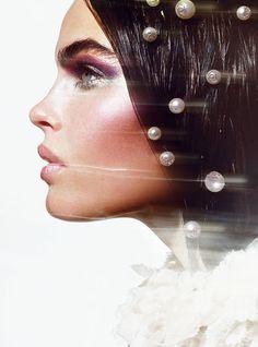 mermaid trend - Chanel hairpins 2012