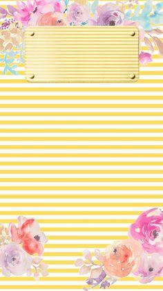 New wall paper ipad floral minis Ideas Ipad Wallpaper Kate Spade, Ipad Wallpaper Quotes, Ipad Mini Wallpaper, Flowery Wallpaper, Name Wallpaper, Phone Screen Wallpaper, Cute Wallpaper For Phone, Summer Wallpaper, Wallpaper Iphone Disney