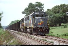 RailPictures.Net Photo: SBD 8513 Seaboard System EMD SD50 at Cartersville, Georgia by George W. Hamlin