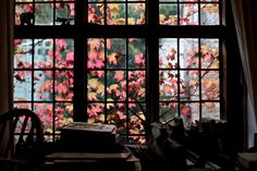 Window with books and stuff by Dominic Mafham, via Flickr