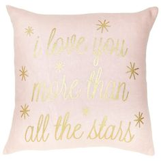 Expressions Pillow – Love You More Pillow by Indigo | Decorative Pillows Gifts | chapters.indigo.ca