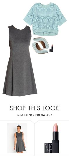 """Emmy Rossum Inspired Outfit"" by daniellakresovic ❤ liked on Polyvore featuring Yosi Samra, NARS Cosmetics and Rebecca Taylor"