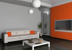 orange and grey living room. Beautiful And Luscious Orange White Living Rooms  Elegant Paint Colors With Grey orange grey living room lounge Home Pinterest LIVING ROOM