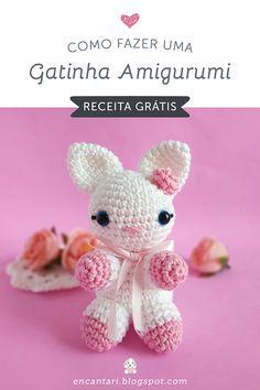 How to Make a Beautiful Crochet Amigurumi Kitten – Step by step recipe on … – Modalbox Amigurumi Toys, Amigurumi Patterns, Crochet Patterns, Crochet Rabbit, Crochet Toys, Cat Steps, Bunny Toys, Beautiful Crochet, Toys For Girls