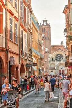 Discover the city of Toulouse, France Ville Rose, Travel Goals, France Travel, Belle Photo, Beautiful World, Bordeaux, Travel Photography, Scenery, Places To Visit