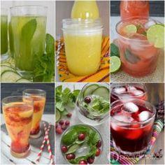 Recetas de aguas frescas www.pizcadesabor.com