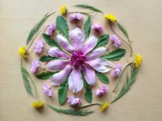 Spring found materials mandala: kids connect @Kara Morehouse Morehouse Morehouse Hauenstein connect on Twitter