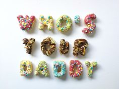 Who's your daddy Father's Day donuts by Cupcakes & Studmuffins ( Donuts, Fathers Day, Daddy, Cupcakes, Stud Earrings, Frost Donuts, Cupcake Cakes, Beignets, Father's Day