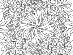 Adult Coloring Pages: Abstract 3-1