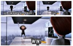I need an Edna Mode life coach! #TheIncredibles