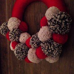 Christmas pompons