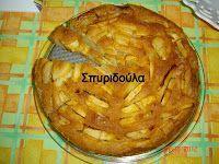 Για τους λάτρεις του μήλου!!! Υλικά για 26-28 εκ. ταψί 2 φλ. τσαγιού αλεύρι για όλες τις χρήσεις 1 φλ. τσαγιού βούτυρο 4 αυγά 5 ξυνόμηλα κομ...
