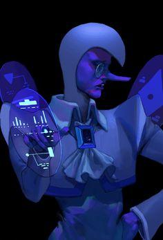Blue Zircon in Steven Universe Blue Diamond Steven Universe, Steven Universe Anime, Steven Universe Wallpaper, Steven Universe Characters, Universe Art, Fandoms, Star Vs The Forces Of Evil, Blue Zircon, Anime Demon