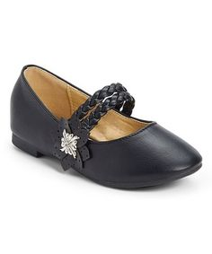 Another great find on #zulily! Black Braided Mary Jane #zulilyfinds